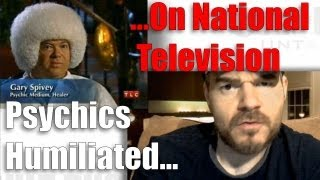 Psychics Humiliated On National TV - The Legend Of James Randi.