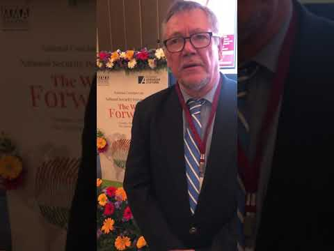 Mr Peter Rimmele Talks About Madras Management Association (MMA) At Leela Palace, Chennai