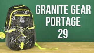 Розпакування Granite Gear Portage 29 Green Grey 923126