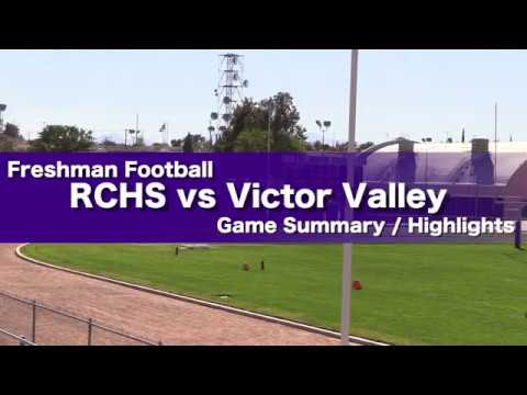 RCHS vs Victor Valley Game Recap
