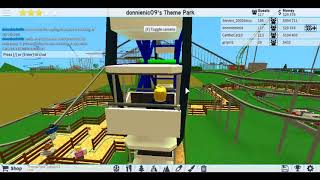 looking at my main park [theme park tycoon two specal episode