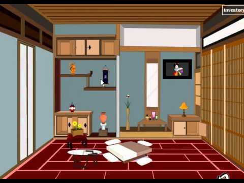 Jap Living Room Escape Walkthrough
