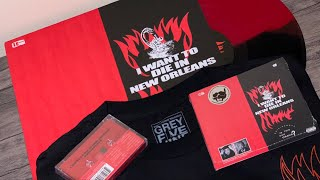 UNBOXING: SuicideBoys - I WANT TO DIE IN NEW ORLEANS album bundle