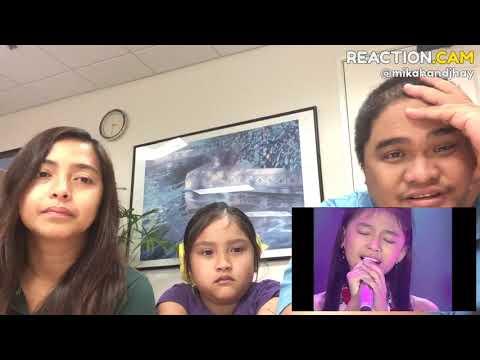 Family Reacts to ANNETH sings  O INA NI KEKE (Anneke Grönloh) - TOP 10 - Indonesian Idol Junior 2018