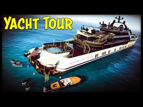 "GTA 5 $10,000,000 ""YACHT"" TOUR! All 3 Yachts Customization, Prices & Info! (Executives DLC)"