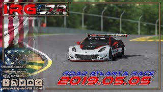 rFactor 2 – IRG Corvette Cup of America  – ROUND 4 - Road Atlanta - LIVESTREAM