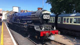 60009 on The Torbay express 6023 at the PDSR much more around Devon 15 7 18