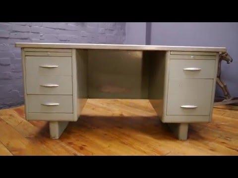 large-1950s---60s-steel-vintage-industrial-grey-metal-tanker-desk