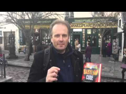 Author Troy Anderson of THE BABYLON CODE visits Shakespeare and Co. Bookstore