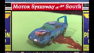Stop Motion : Disney Pixar Cars Final Race Reenactment : Lightning McQueen VS King VS Chick Hicks