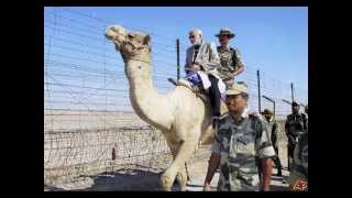 Narendra Modi -On india -PaK border...A Patriotic song for our indian ARMY...jai hind