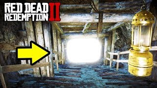 HIDDEN MINE FILLED WITH RARE ITEMS in Red Dead Redemption 2! RDR2 Tips!