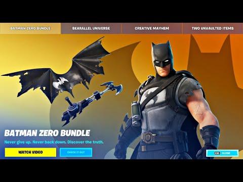 New BATMAN ZERO BUNDLE!! Winning in Solos! (Fortnite Season 6)
