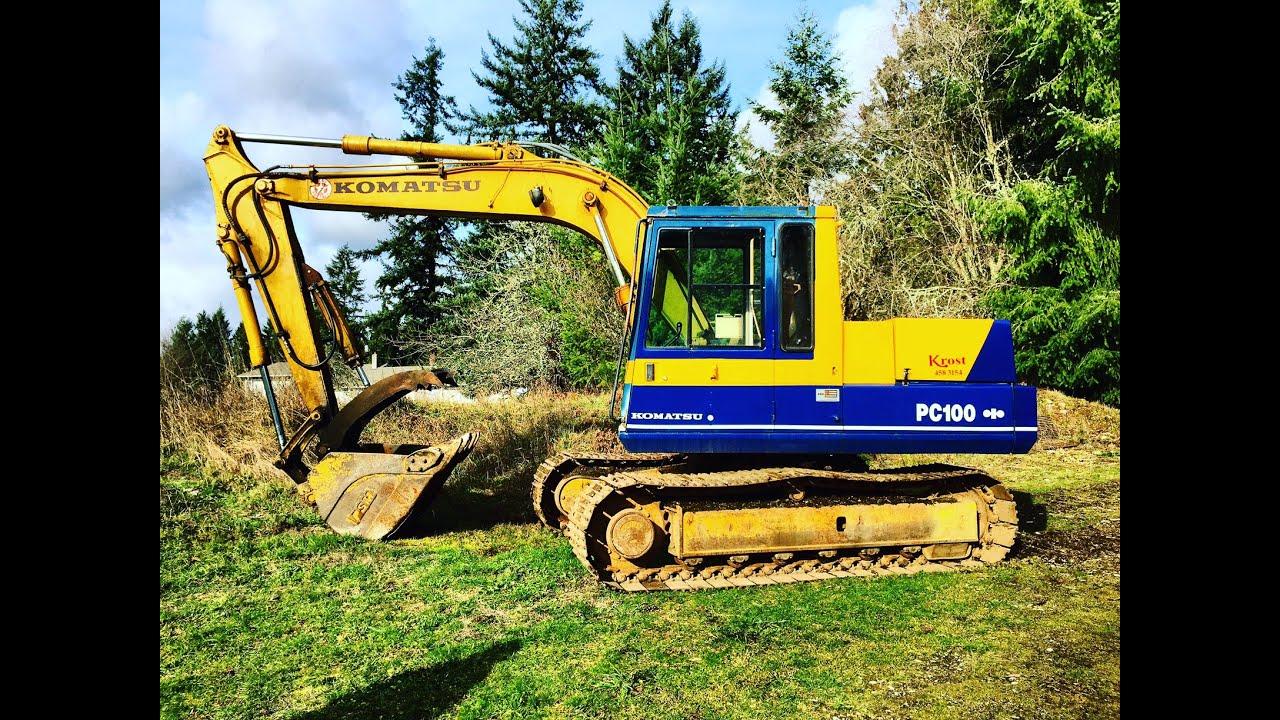 Komatsu Pc100 3 Excavator