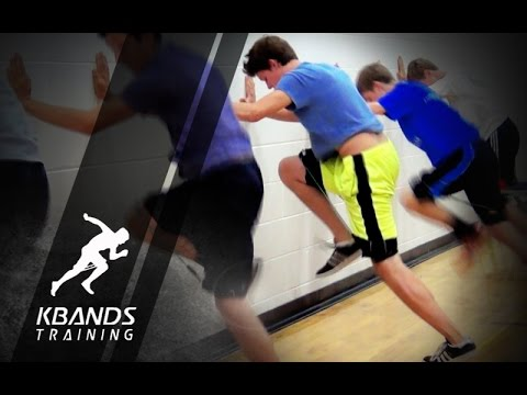 Youth Resistance Bands Exercises   Youth Speed Training