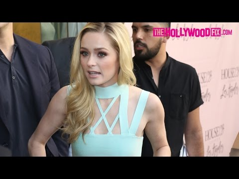 Greer Grammer Attends The House Of CB Launch Party Without Her Father Kelsey Grammer 6.14.16