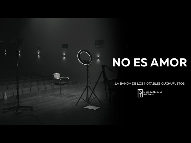"Podestá 2020 presenta: ""No es amor"""