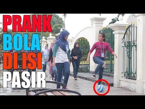 GILA BOLA DI ISI PASIR|PRANK INDONESIA