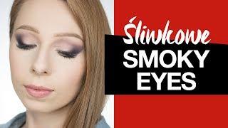 Śliwkowe Smokey Eyes krok po kroku  ❤️ AGNIESZKA ❤️