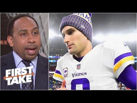 Kirk Cousins isn't the reason for Vikings' failures - Stephen A. Smith | First Take