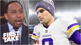 Kirk Cousins isn't the reason for Vikings' failures - Stephen A. Smith | First Take