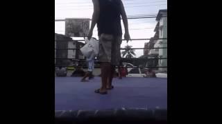 pelea en el barracon
