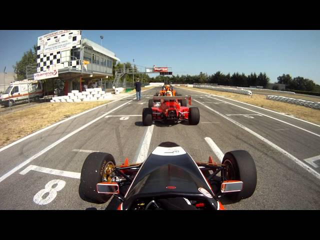 Video cameracar Kartodromo Val vibrata