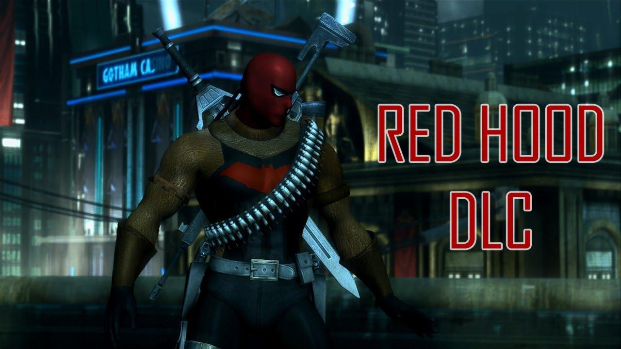 Red Hood Jason Todd Injustice