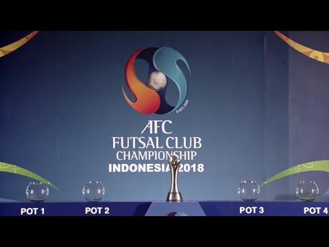 AFC Futsal Club Championship Final Draw