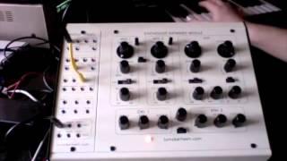 Tom Oberheim SEM Patchpanel basic demo