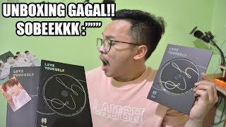 UNBOXING BTS LOVE YOURSELF 'TEAR' (Y VERSION) SOBEEEKKK!!!