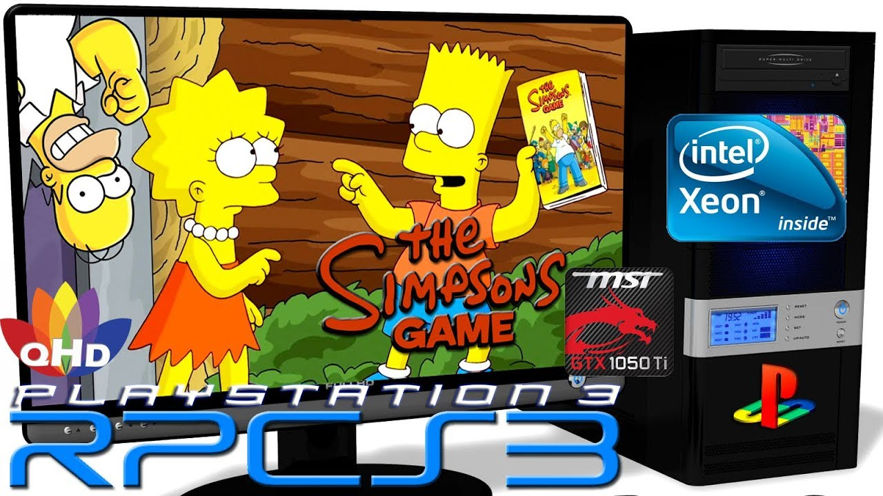RPCS3 0 0 6 [PS3 Emulator] - The Simpsons Game [Gameplay] Xeon E5-2650v2 #4