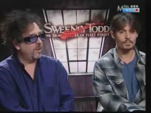 Sweeney Todd interview...& games! *SPOILERS*