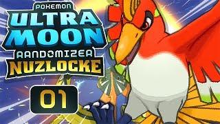 THERE'S JUST NO WAY! • Pokemon Ultra Moon Randomizer Nuzlocke • EP01