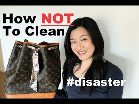 Louis Vuitton Vintage Noe Cleaning Project | Yuenny Lam