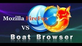 Cинхронизация закладок Mozilla FireFox с Boat Browser