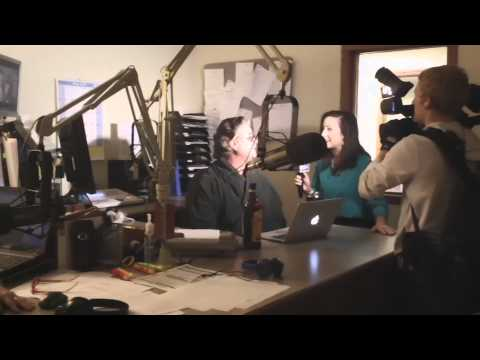Behind TV: Mix97-3 Wlecomes KSFY's Courtney Collen to the Studio