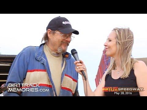 Tom Davies interview at  Butler Motor Speedway -  May 28, 2016