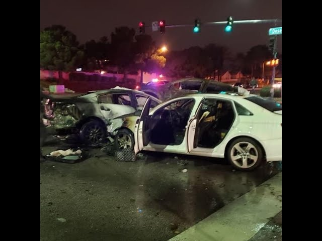 Talib Kerns does not believe his brother Tacuma Wesley caused last months deadly Las Vegas car crash