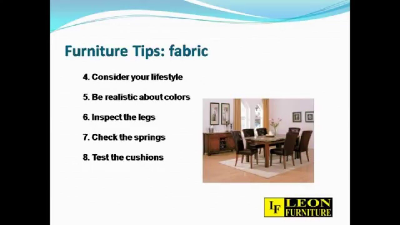 12 Tips For Buying High Quality And Low Priced Furniture