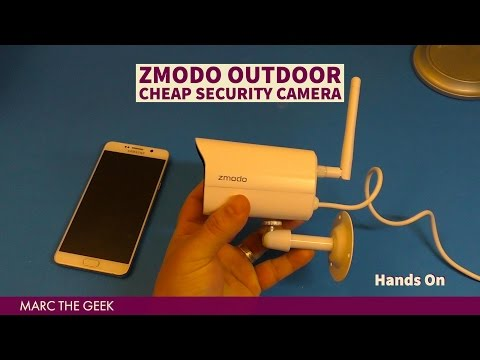 Zmodo Outdoor Cheap Security Camera Hands On