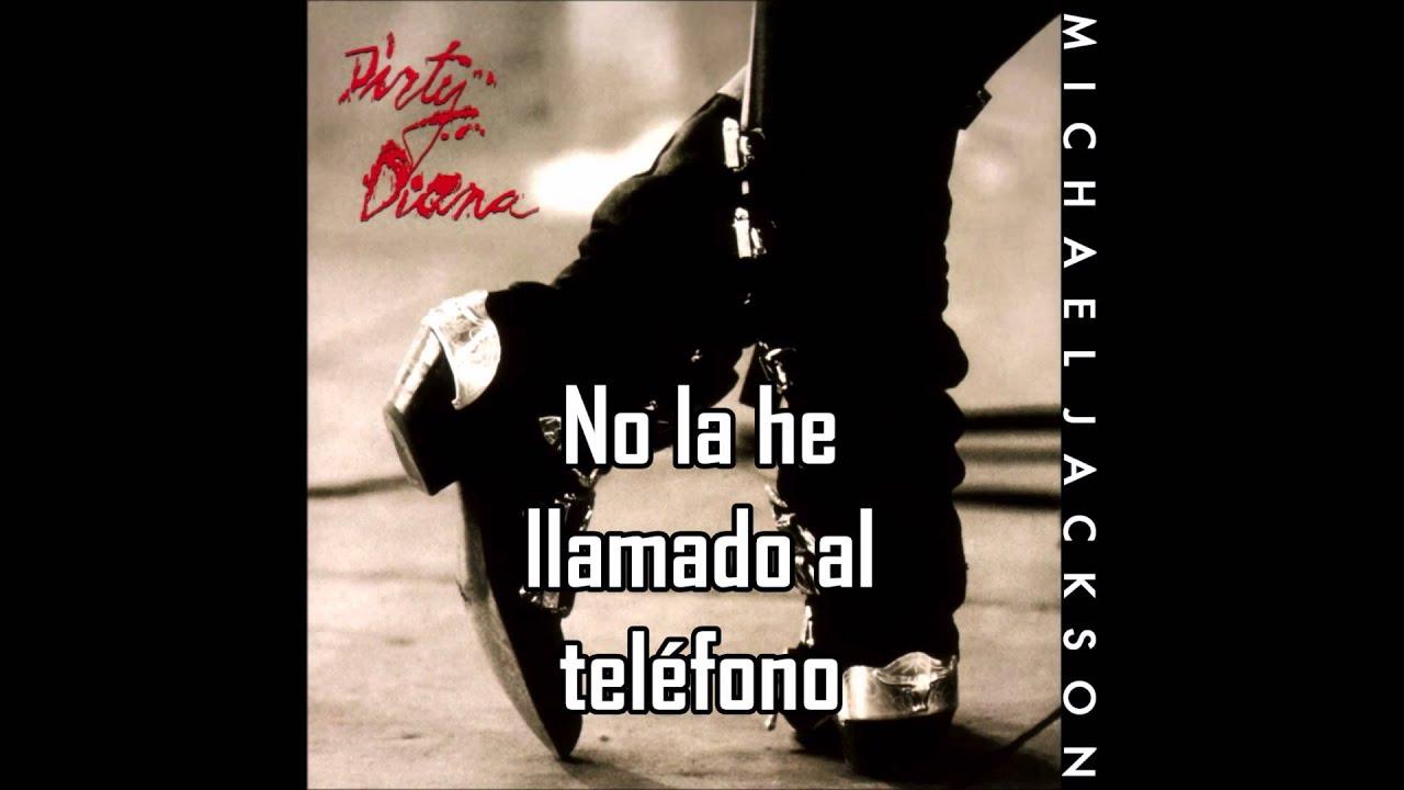 Michael Jackson- Dirty Diana Letra en Español
