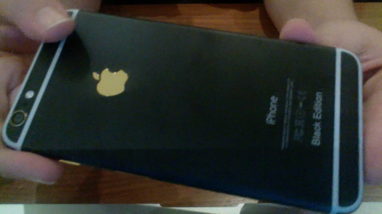 Iphone 6 black edition on the hunt.