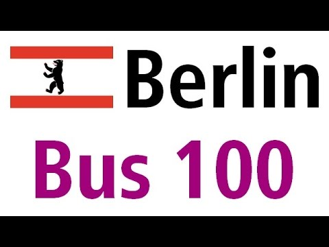 berlin bus 100 s u alexanderplatz s u zoologischer garten youtube. Black Bedroom Furniture Sets. Home Design Ideas