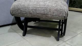 Очень комфортное кресло качалка с необычным механизмом   для тех, кто по настоящему ценит удобства