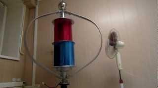 Ветрогенератор вертикальный MAGLEV 400 Вт(Подробности на сайте www.manblan.ru Развитие современных технологий приносит очередные инновационные решения..., 2012-03-07T17:18:14.000Z)