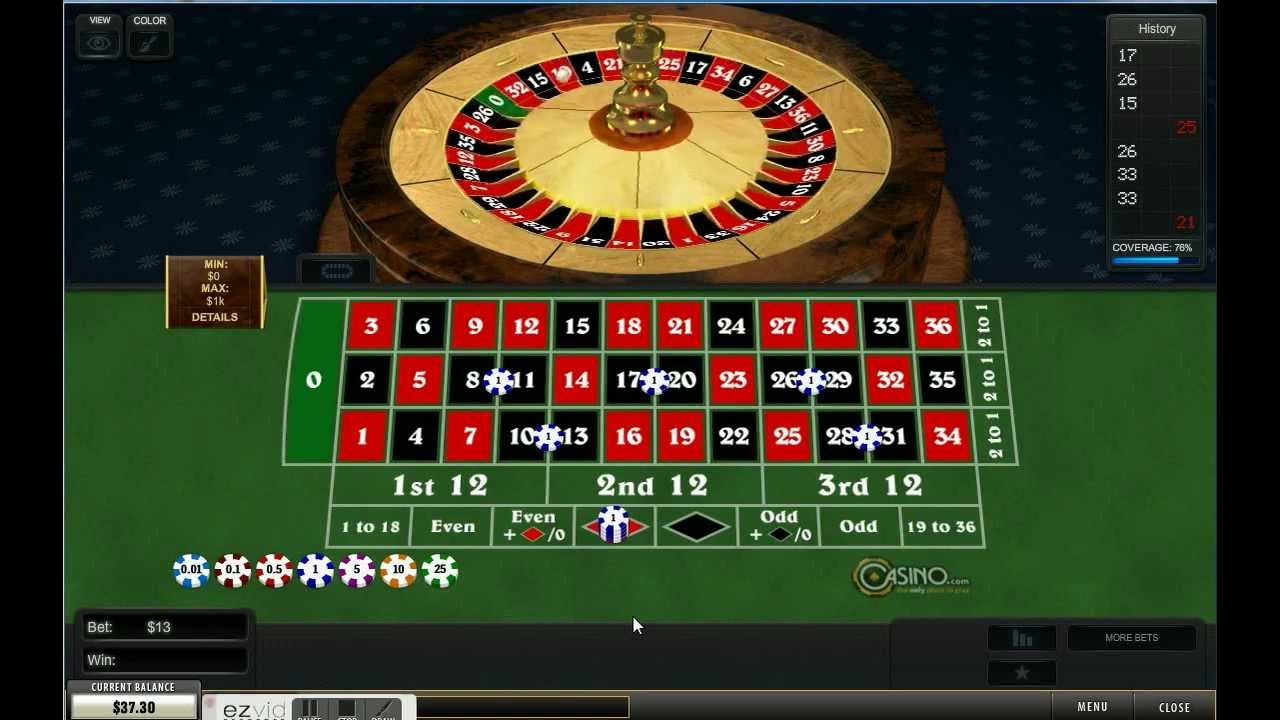 online roulette system does it work
