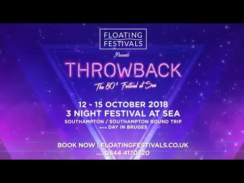 Throwback  The 80s Festival At Sea