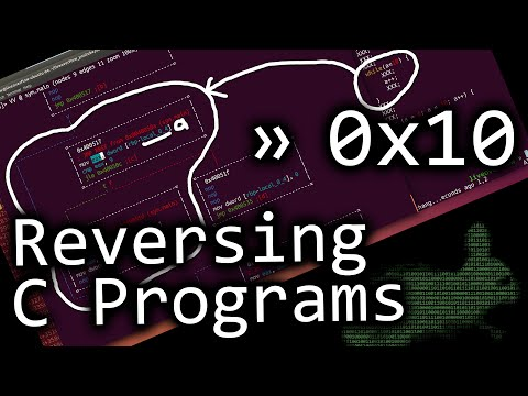 Reverse engineering C programs - bin 0x10