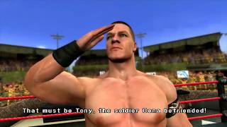 John Cena's Road to Wrestlemania Cutscenes Only